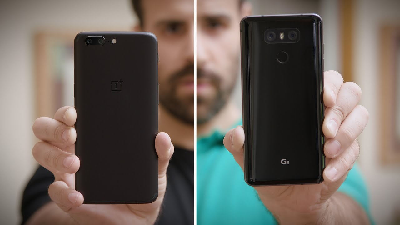 OnePlus 5 vs LG G6 Review - Same Price But Which One is Better!?