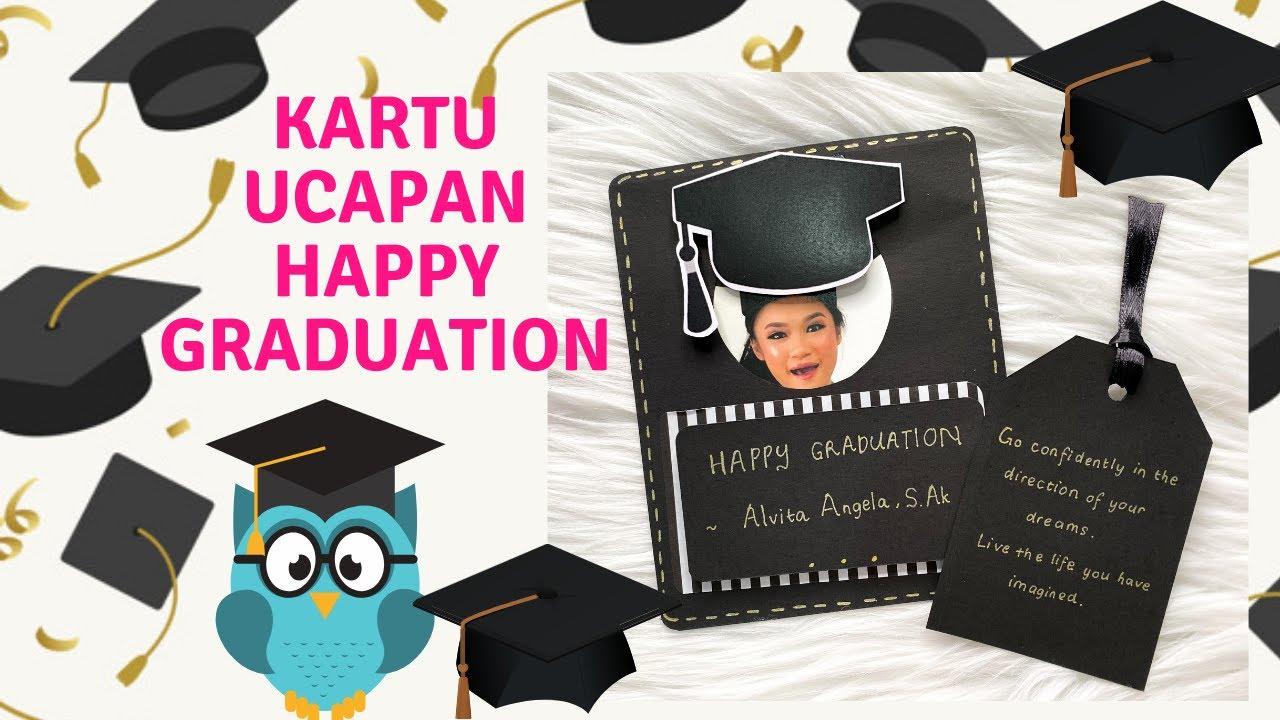 Diy Kado Wisuda Kado Graduation Kartu Ucapan Happy Graduation Youtube