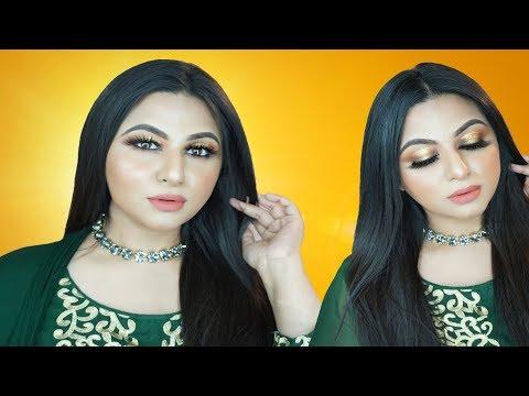 EID MAKEUP TUTORIAL 2019 | Soft Glam Party Look || Ananya Artistry thumbnail