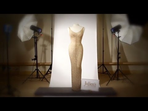 Marilyn Monroe's Iconic Dress Worn for JFK's Birthday Could Fetch $3M At Auction