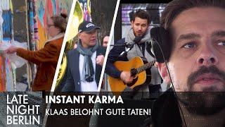 Instant Karma: Klaas belohnt gute Taten | Late Night Berlin | ProSieben