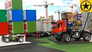 Брудер іграшкові вантажівки брудер іграшка   малюк Джонні зло   поліції застряг вуличні гонки