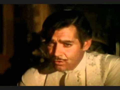 Escena Famosa de la película Lo que el viento se llevó castellano latino
