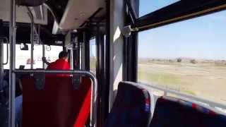 BYD Electric bus test drive