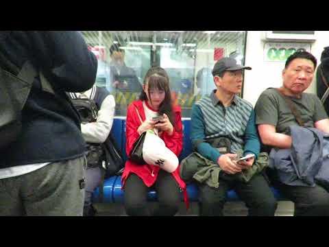 SHANGHAI 2018 AVRIL METRO CONFUCIUS TEMPLE AREA