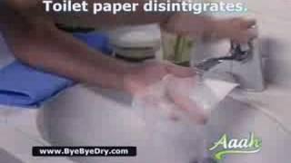 aahh toilet paper foam