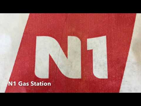 N1 Gas Station at Hlíðarendi, Iceland | Math Real Life Application