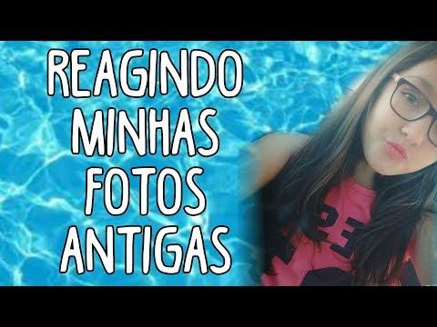 REAGINDO MINHAS FOTOS ANTIGAS 😂😂😫