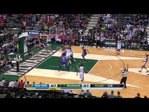 NBA 2013-14 Season Milwaukee Bucks Top 10 Plays