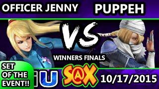 Fall Arcadian - TGS | Puppeh (Sheik) Vs. Officer Jenny (ZSS) SSB4 WF - Smash Wii U - Smash 4