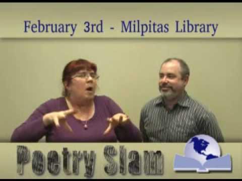 Poetry Slam Happening Feb. 3, 2010 at Milpitas Lib...