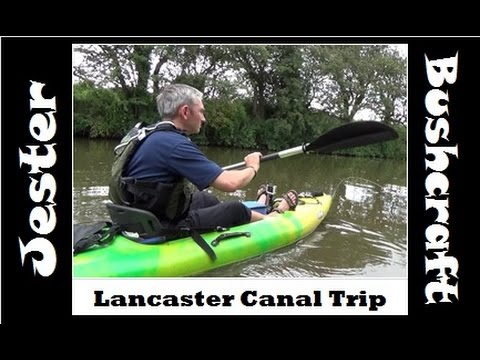 Sit On Kayak Maiden Voyage On Lancaster Canal