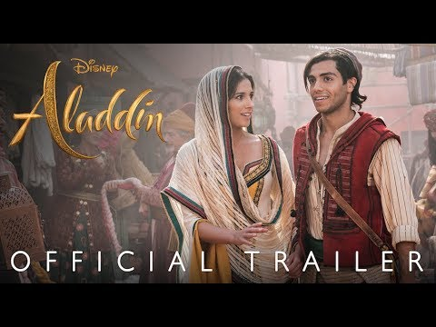 Zach Dillon - Disney's first FULL Aladdin Trailer is OUT!
