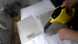 как очистить сетку для вытяжки без химий [Mechanik Lilian]