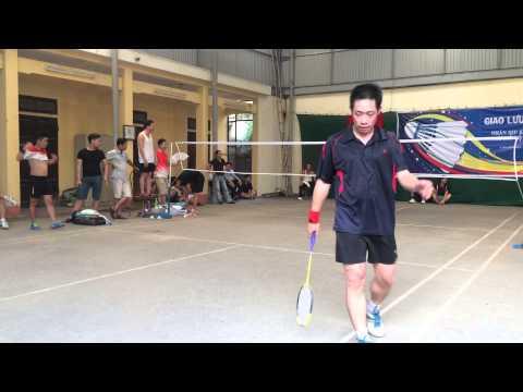 [CLB Cầu lông Cẩm Khê] Giải Hùng Vương 2015_Bán kết_Giáp ft Thái vs Huy ft Bằng (PX) set 2