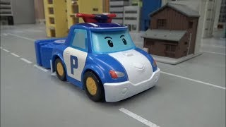 로보카폴리 경찰차 슈팅카 장난감 Robocar Poli Police Car Shooting Car Toys