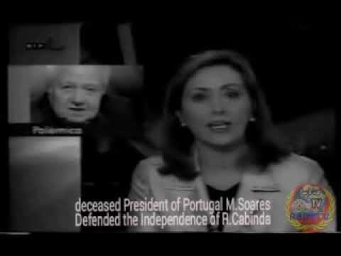 deceased President of Portugal M.Soares Defended the Independence of R.Cabinda