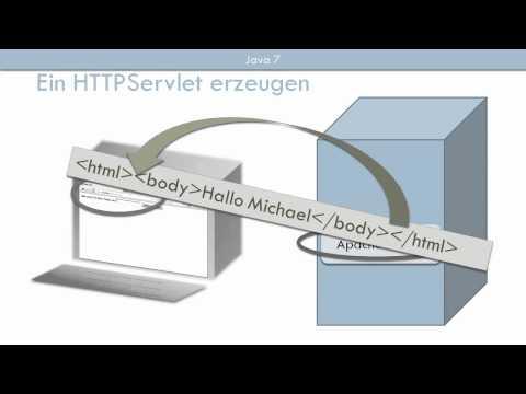 Ein HTTP-Servlet erzeugen - Java 7