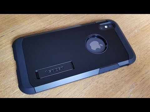 low priced af045 abfef Spigen Tough Armor Iphone X Case Review - Fliptroniks.com