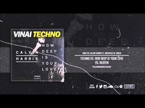 Techno vs. How Deep Is Your Love vs. Heaven (The Chainsmokers Mashup)