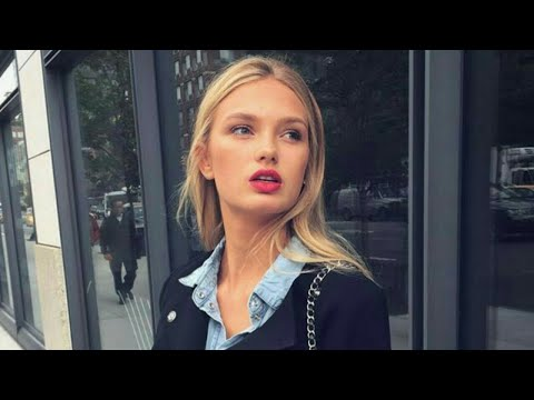 Romee Strijd as a fashion model