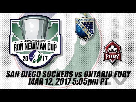 Pacific Div Championships Game 1 - San Diego Sockers vs Ontario Fury