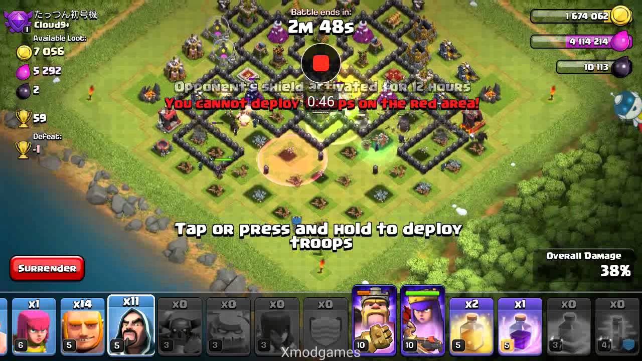 TRIAL ATTACK TH 9 XMOD GAMES COC