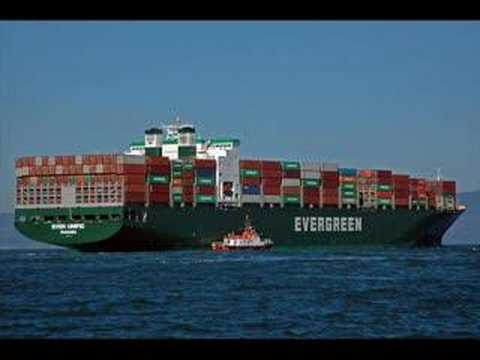 Container ships of the world