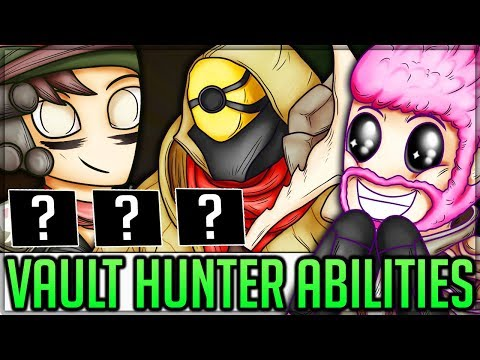 All New Vault Hunter Abilities - Borderlands 3! (Amara FL4K Zane Moze Abilities Breakdown + Theory) thumbnail