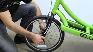 ElliptiGO Elliptical Bicycle Support Video #10 - Installing the ElliptiGO Front Wheel