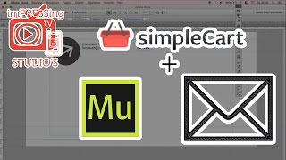 Use simpleCart.js Email Checkout in Adobe Muse.