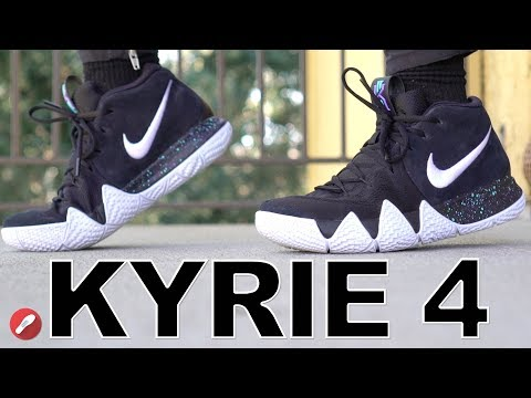 size 40 e48e4 2f4f3 Nike Kyrie 4 First Impressions + Initial Review! - YouTube