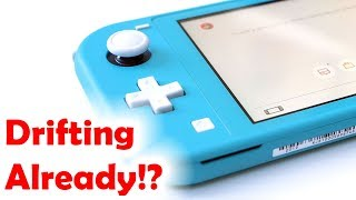 """Switch Lite """"Drifting"""" Already!? Let's Talk About It..."""