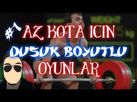 AZ KOTA İÇİN DÜŞÜK BOYUTLU TOP 6 OYUN MAX ~2 GB~ #1