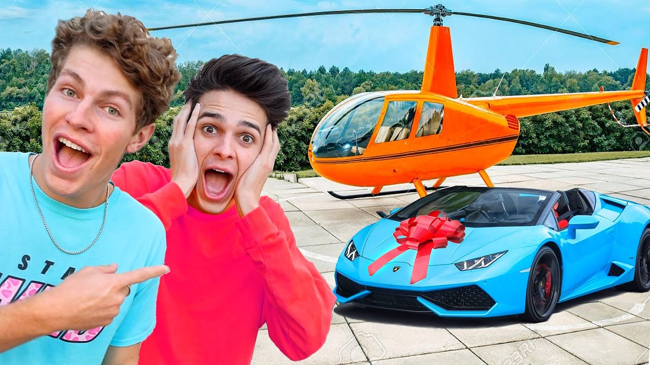 Surprising Brent Rivera With 24 gifts in 24 hours!