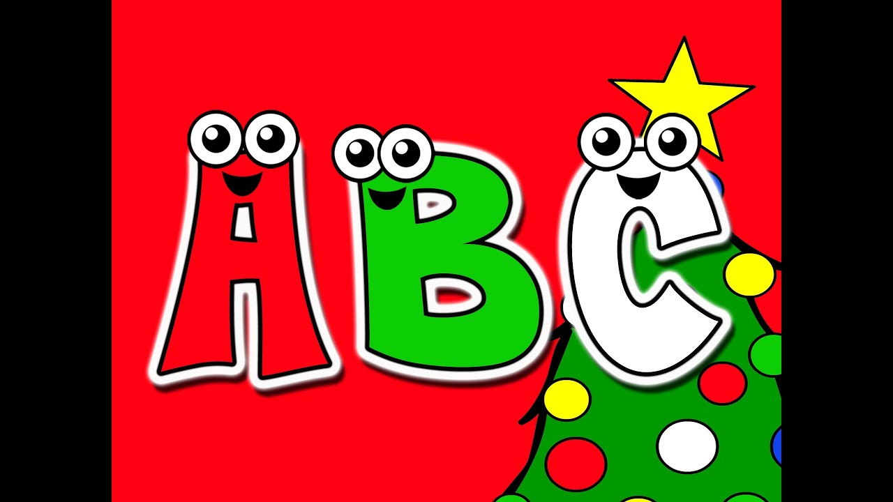 christmas abcs busy beavers at christmas time kids alphabet nursery song youtube