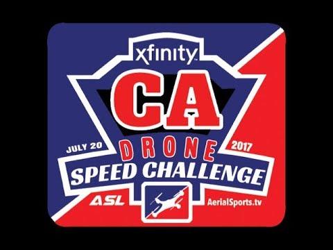 Nbc Sports Xfinity California Drone Speed Challenge By