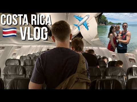 COSTA RICA TRAVEL VLOG PT. 1 (Welcome To Paradise)