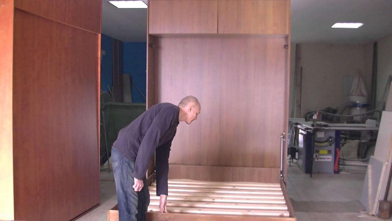 �243żko chowane sk�adane do szafy w szafie youtube