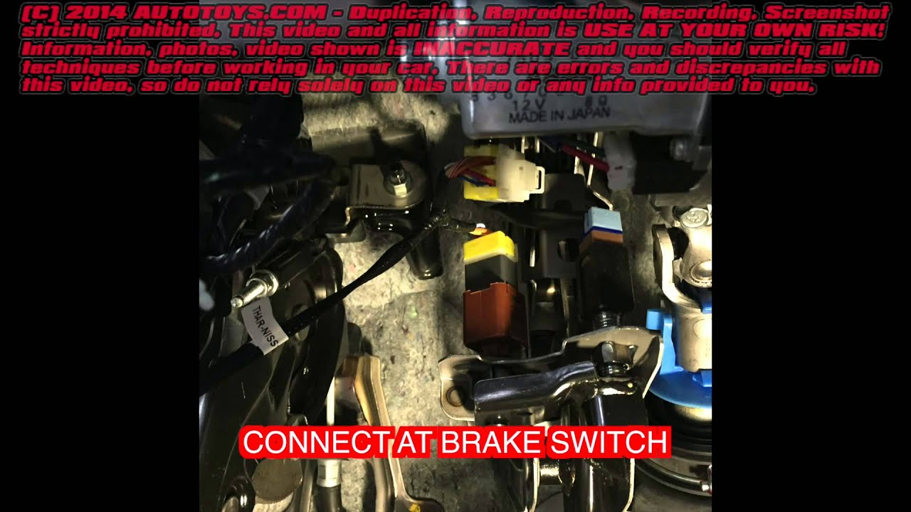 Infiniti G37 Remote Start Uncut Fortin Use At Youir Own Risk Youtube Starter For M35x