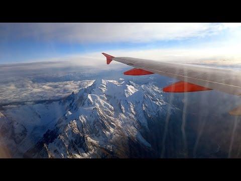 EasyJet A320 Landing & Taxi at Geneva Airport [GVA/LSGG]