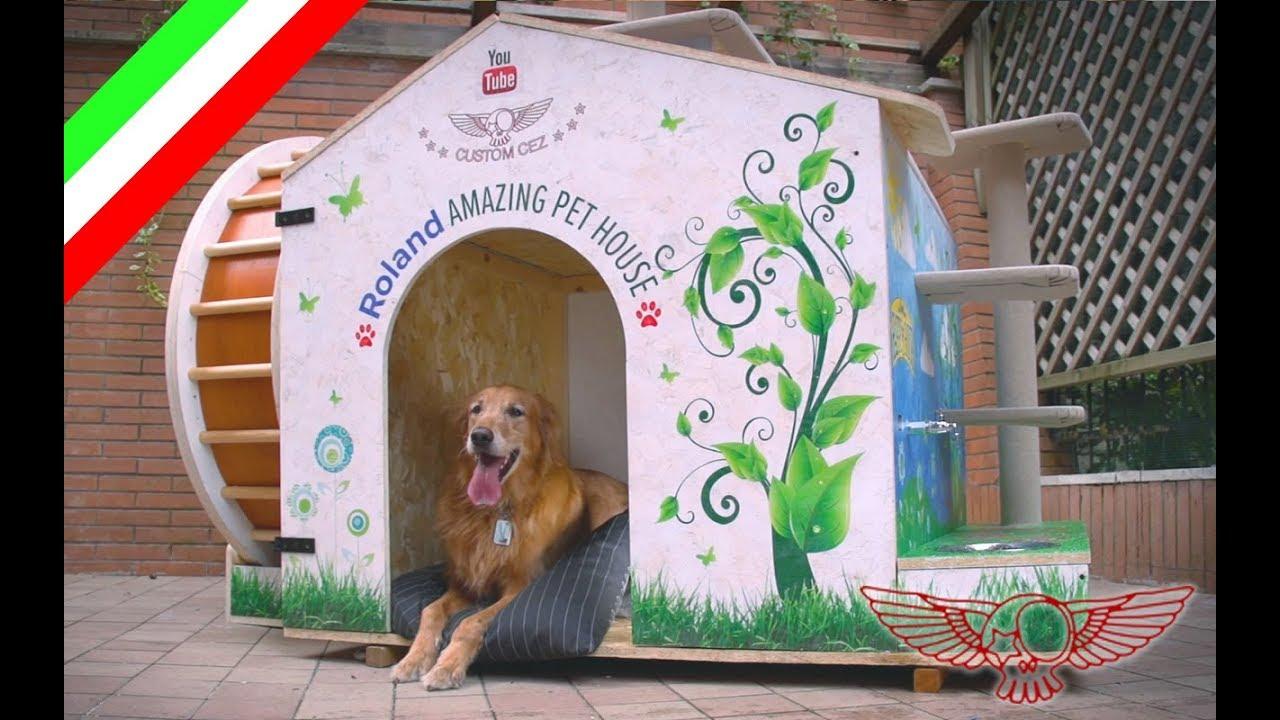 Come fare una cuccia per cane e gatto fai da te ep01 for Impermeabile per cani fai da te