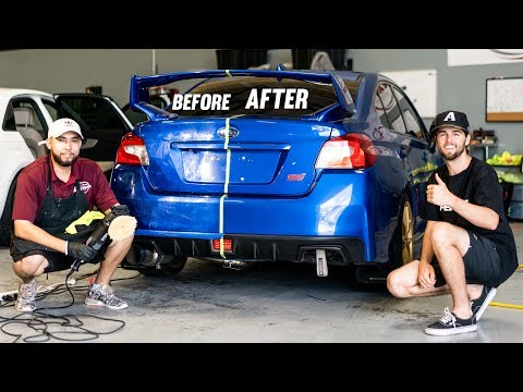 STi Gets Paint Correction! WOW