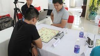 Ván 9 cờ nhanh Giải A2 - 2016 : Lại Lý Huynh ( BDU ) 1-0 Nguyễn Anh Quân ( BCA )