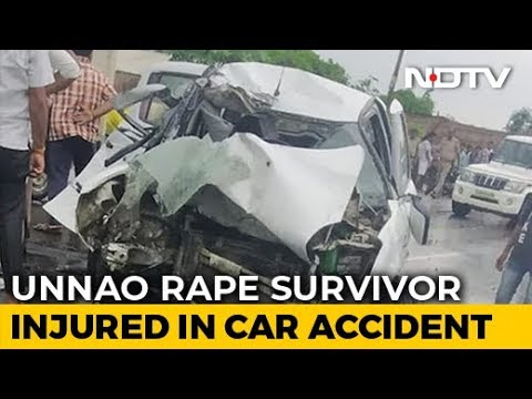 Unnao Rape Survivor Injured In Car Accident In Uttar Pradesh