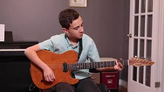 "Alex Bonadonna - Gear Review, Dalbello Guitars ""Bellamy"""