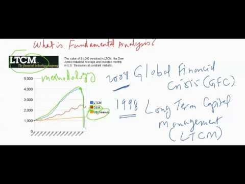 What is fundamental analysis? (LTCM)