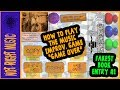 Music Improvisation Game: Game Over (Fakest Book Entry #1)