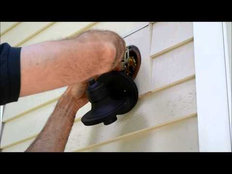 How To Install An Exterior Light Fixture Part 1 Doovi