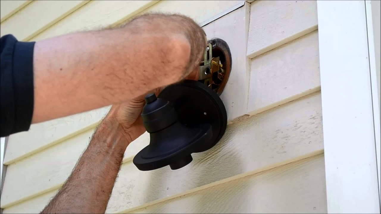 How to Install Exterior Light Fixture Video  YouTube
